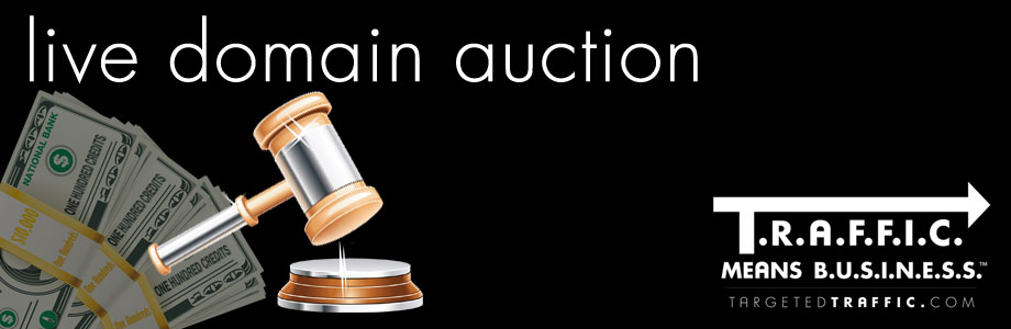 Live Domain Auction