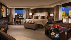 Regular king room at Bellagio