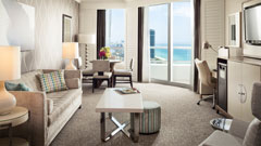 Luxury suites at Fontainebleau