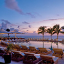 Ritz Carlton Hotel Deck at Dusk